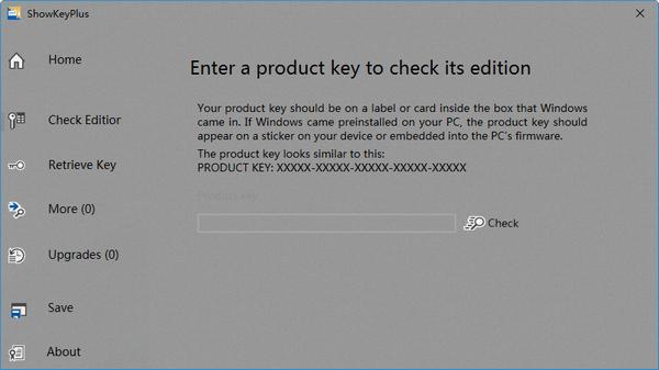 ShowKeyPlus(产品密钥查看验证器)下载