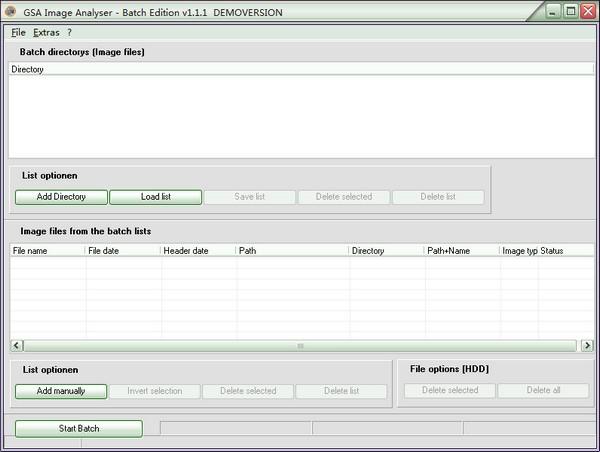 GSA Image Analyser Batch Edition(图像分析软件)