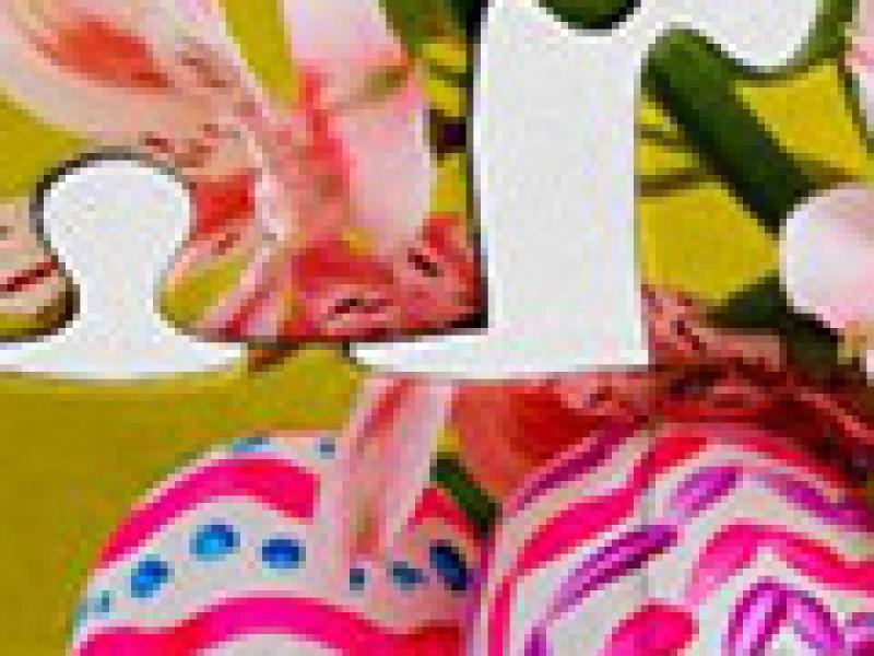 假日拼图:复活节4 英文版