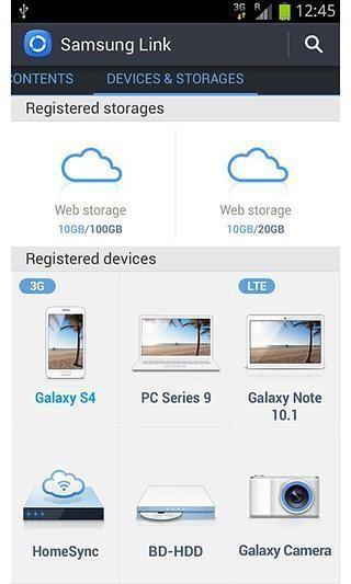三星智能共享(Samsung Link)软件截图2