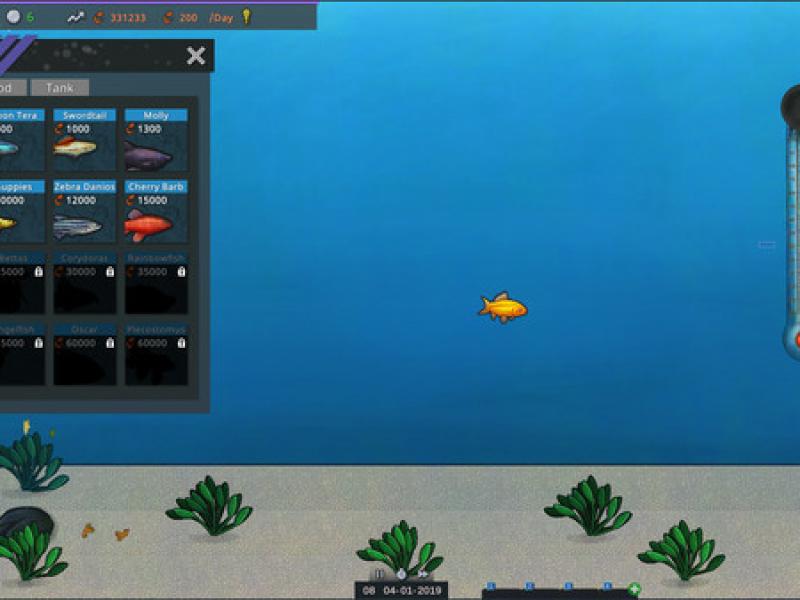 鱼模拟器:水族馆经理 英文版下载