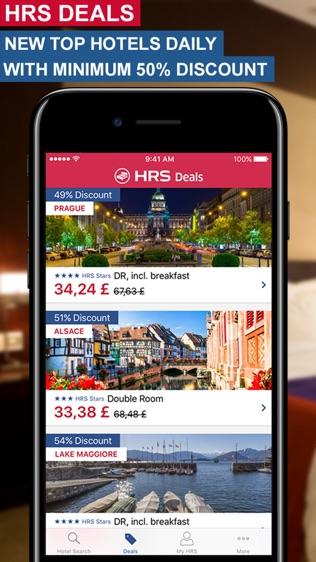 HRS全球酒店预订软件截图1