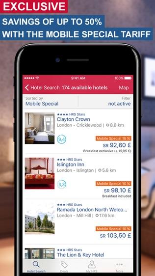 HRS全球酒店预订软件截图0