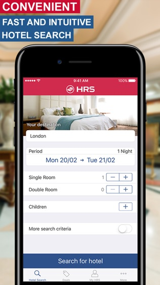 HRS全球酒店预订软件截图2