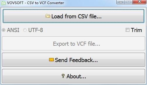 CSV to VCF Converter(CSV转VCF工具)下载