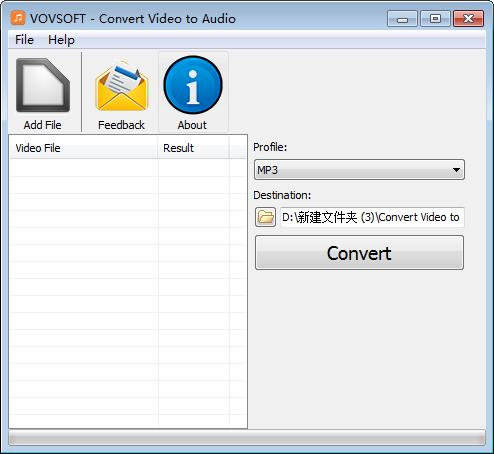 视频转音频软件(Convert Video to Audio)