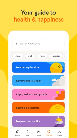 Headspace: Guided Meditation软件截图0