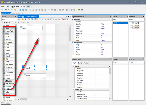 H5可视化开发工具(DecSoft App Builder)下载