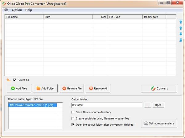 Okdo Xls to Ppt Converter(Xls文件转PPT工具)