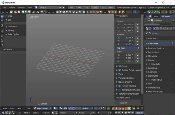 Bforartists(3D模型编辑器)