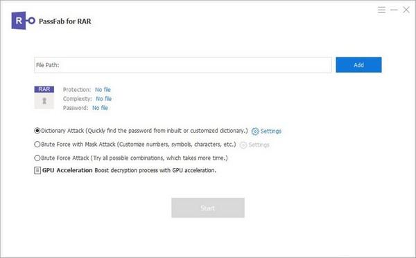PassFab for RAR(压缩文件解密工具)下载