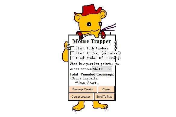 Mouse Trapper(多显示屏设置器)