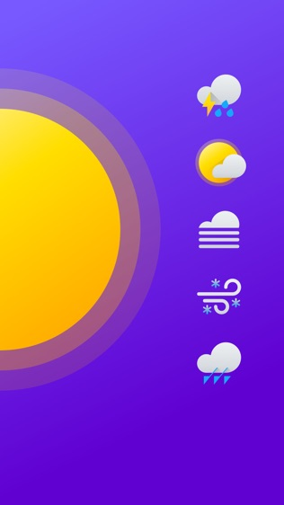 Yahoo 天气软件截图2