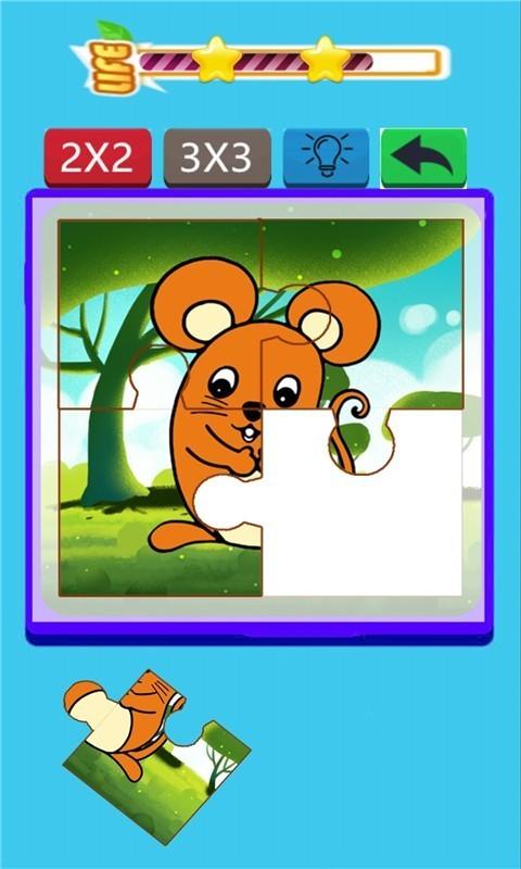 宝宝爱拼图动物篇软件截图2