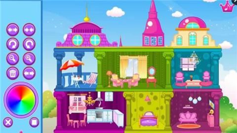 公主玩偶城堡软件截图1