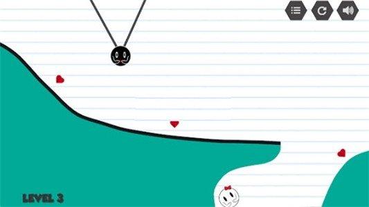 恋爱黑白球软件截图3