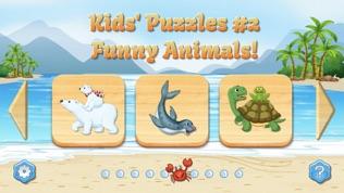 儿童拼图,完整游戏软件截图0