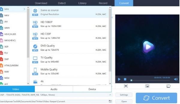AceThinker Video Keeper(视频下载工具)下载