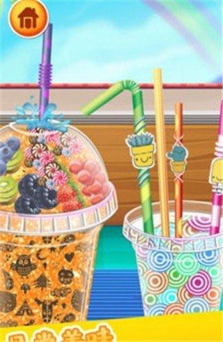 做饭游戏果汁制作软件截图0