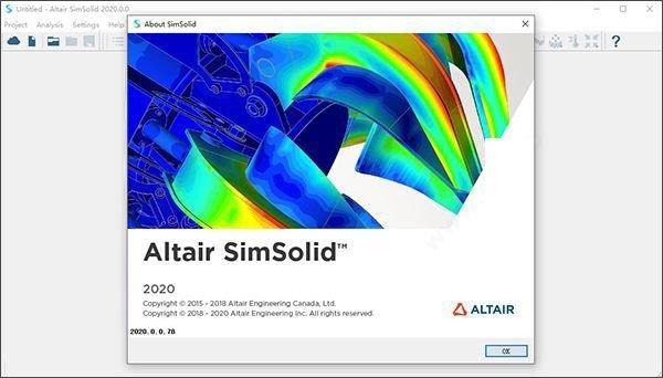 Altair SimSolid(结构模拟仿真软件)