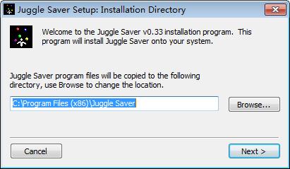 Juggle Saver(屏幕保护程序)下载