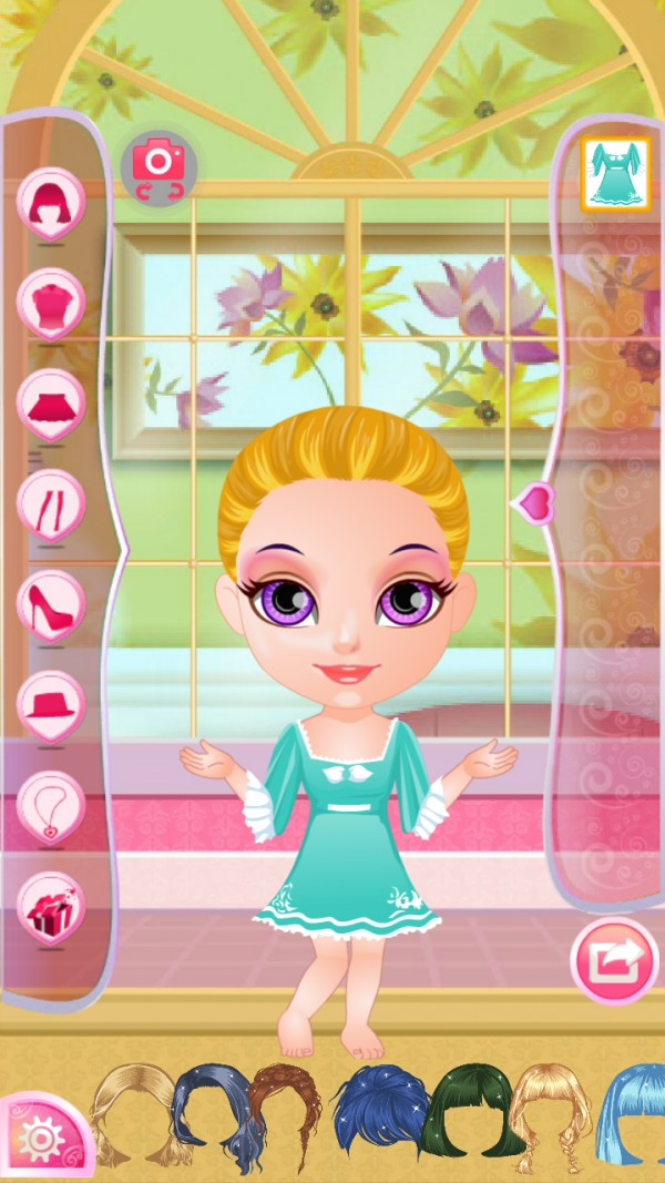 冰雪公主睡衣魔幻装扮软件截图1