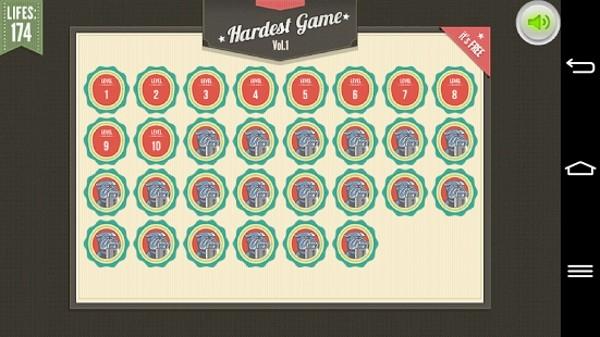 世上最难游戏(The Worlds Hardest Game)软件截图1