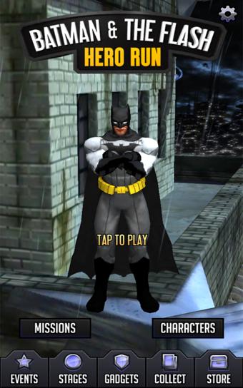 蝙蝠侠与闪电侠英雄跑酷软件截图2