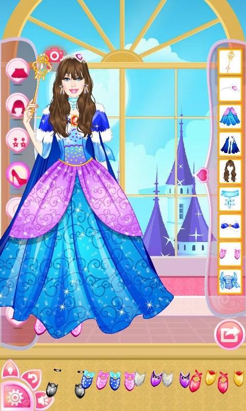 公主宝贝钻石装扮软件截图0