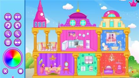 公主玩偶城堡软件截图0
