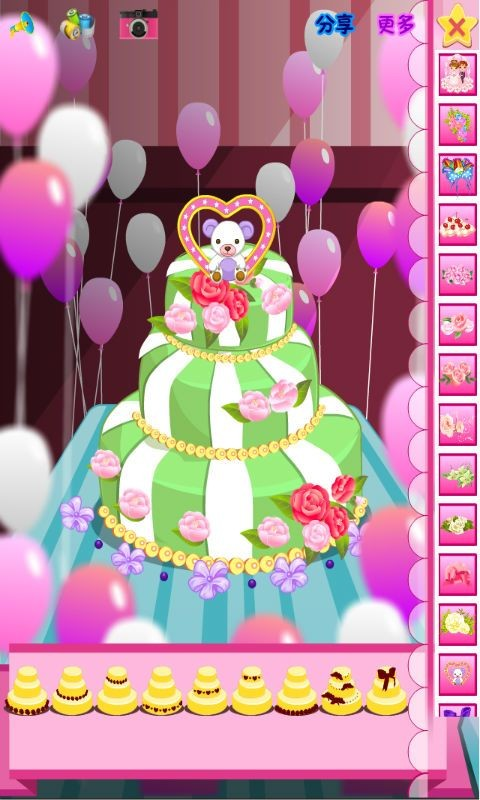 魔法蛋糕软件截图3