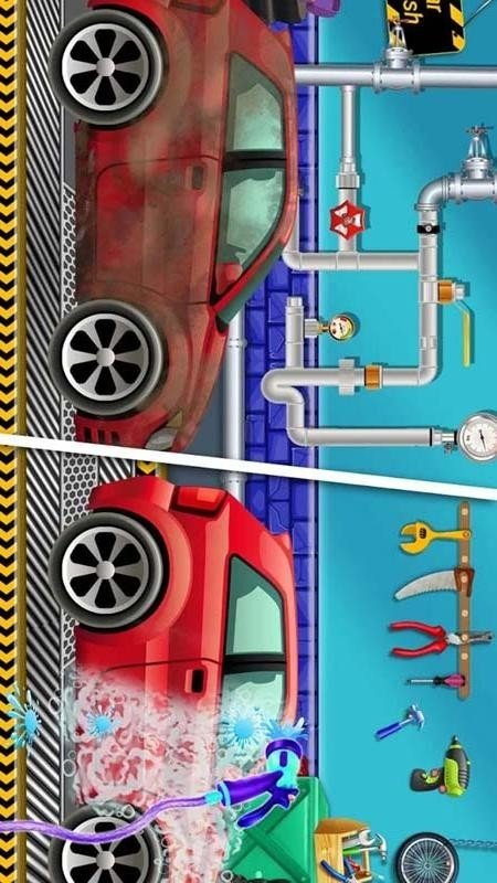 人类疯狂洗汽车软件截图3