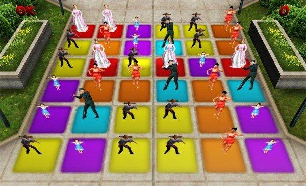 舞蹈地板之战