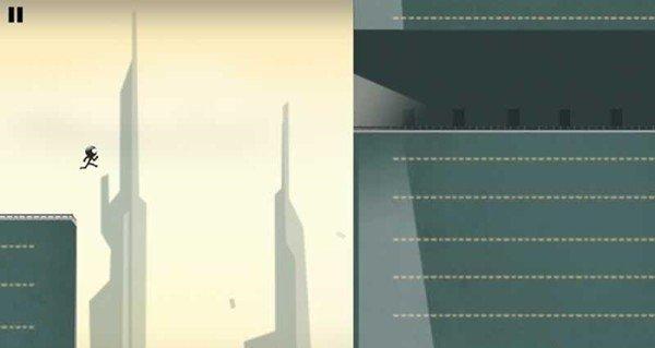 火柴人屋顶酷跑软件截图0