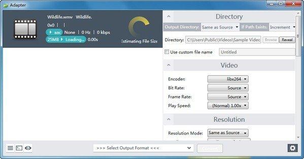 音视频格式转换器(Adapter)