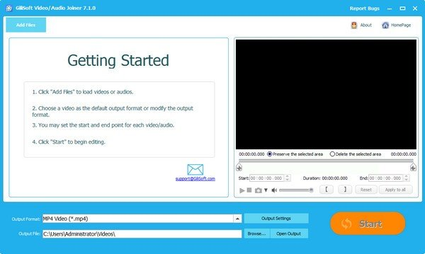 Gilisoft Video Joiner(视频编辑软件)
