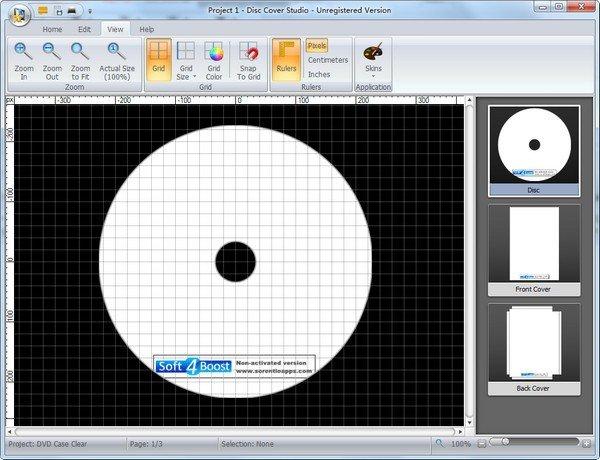 Soft4Boost Disc Cover Studio(光盘封面制作软件)