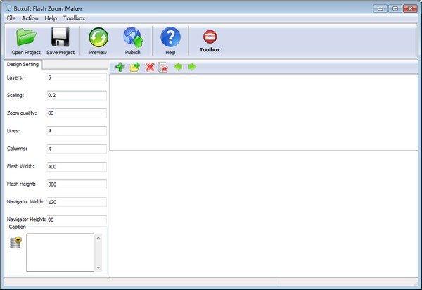 Boxoft Flash Zoom Maker(Flash制作软件)