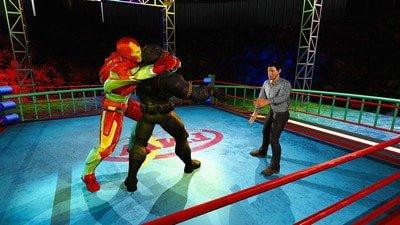 超级英雄摔跤竞技场软件截图0
