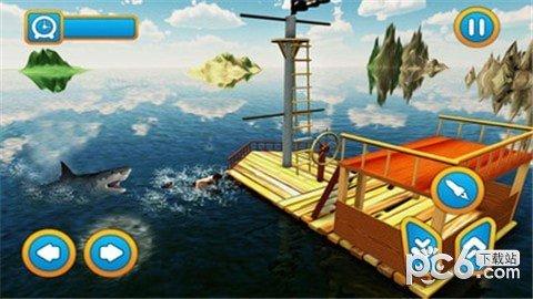 木筏求生鲸鲨猎人软件截图3