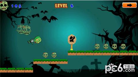 万圣节僵尸怪物运行软件截图2