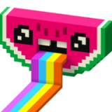 彩色数字3D