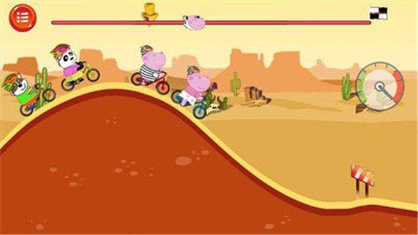 儿童自行车大赛