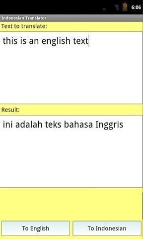 印尼英语翻译软件截图1