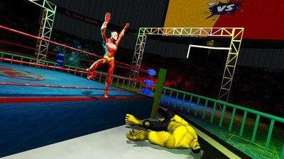 超级英雄摔跤竞技场软件截图3