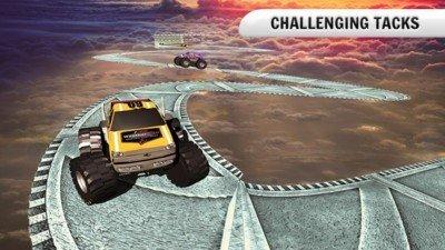 4X4怪物卡车爬山软件截图2