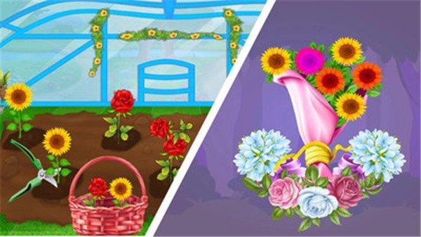 美丽的花束商店软件截图1