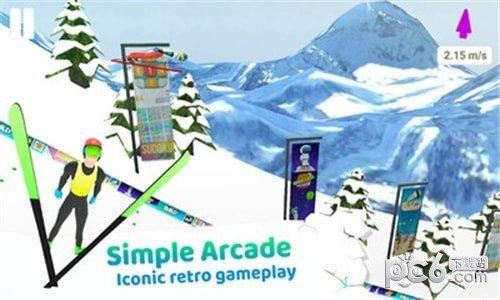 跳台滑雪竞技软件截图0