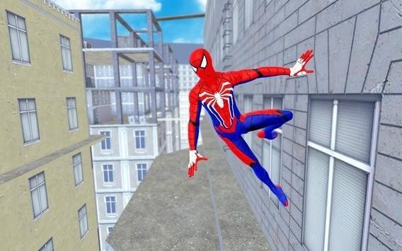 蜘蛛英雄战斗歹徒绳之战软件截图0