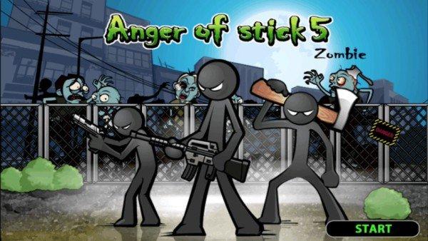 愤怒的火柴人5软件截图1